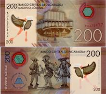 NICARAGUA       200 Cordobas       P-214       L. 26.3.2014 (2015)       UNC - Nicaragua
