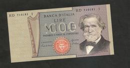 REPUBBLICA ITALIANA  - 1000 Lire - VERDI II° Tipo - (06/09/1980 - Firme:  Ciampi / Stevani) - [ 2] 1946-… : Repubblica