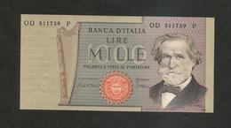 REPUBBLICA ITALIANA  - 1000 Lire - VERDI II° Tipo - (30/05/1981 - Firme:  Ciampi / Stevani) - [ 2] 1946-… : Repubblica