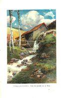 Schwarzwaldmuehle (nach Einem Pastell Von F.Reisz)/ Druck, Entnommen Aus Kalender / 1907 - Books, Magazines, Comics