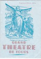 Programme GRAND THEATRE De TOURS (37) Saison Lyrique 1950 - 1951 - Paillasse; Balalaika; Cavalleria Rusticana - Programs