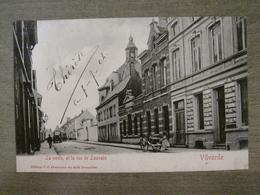 Cpa Ancienne Vilvorde Vilvoorde - La Poste , Et La Rue De Louvain - Ed VG 42 Avenue Du Midi Bruxelles - Vilvoorde