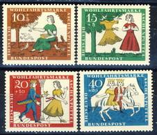 RFT-BRD 1965 UN Serie N. 352-355 MNH Postfrisch Cat. € 1,25 - Ungebraucht