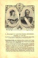 Generalogie Der Regierenden Deutschen Fuerstenhäuser / Artikel, Entnommen Aus Kalender / 1907 - Books, Magazines, Comics