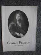 Programme En 1948 COMEDIE FRANCAISE - Salle Richelieu @ Un Caprice Alfred De Musset Et Andromaque De Racine - Programmi