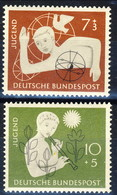 RFT-BRD 1956 UN Serie N. 111-112 MNH Postfrisch Cat. € 11 - Ungebraucht