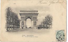 Paris - Monuments - Arc De Triomphe De L'Etoile - Arc De Triomphe