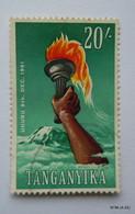 TANGANYIKA 1961, Uhuru, 9th Dec. 1961, 20s. SG119. Fine Used. - Kenya, Uganda & Tanganyika