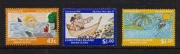 Christmas Island 1991, Minrs 346-348, MNH. Cv 5,30 Euro - Christmas Island