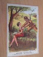 CARPO418 : Carte Postale Humoristique Années 50 Dessin De Laupenty ? MD PARIS Série N°165 - Humour