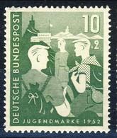 RFT-BRD 1952  UN Serie N. 39 MNH Postfrisch Cat. € 20 - Ungebraucht