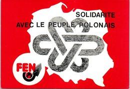 POLOGNE - Solidarité Avec Le Peuple Polonais - Pologne