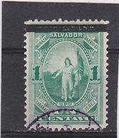 1889 Scott 23, Mi. 18, Yv. 20  Used    036 - El Salvador
