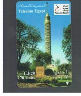 EGITTO  (EGYPT) -   1998 TOWER     -  USED  -  RIF. 10817 - Egypt