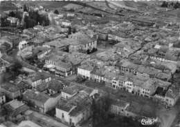 81-REALMONT-LE CENTRE DE LA VILLE VUE AERIENNE - Realmont