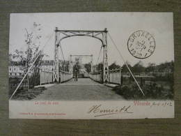 Cpa Vilvorde Vilvoorde - Le Pont Du Parc - Edition VG 42 Avenue Du Midi Bruxelles - Vilvoorde