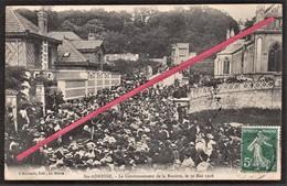 76 SAINTE-ADRESSE -- Le Couronnement De La Rosière De Ste-Adresse (N°2)_ 30 Mai 1908 _ Eglise St-Denis _ (Env. Le Havre) - Sainte Adresse