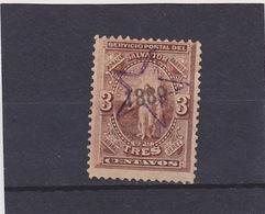 1889 Scott 30, Mi. 23a, Yv. 24  Used  041 - El Salvador
