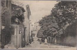 Cpa A3 CERESTE Le Boulevard-maisons-arbres- Belle Animation - Other Municipalities