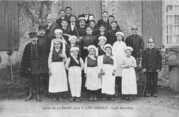 ¤¤  -  VILLAINES ??  -  Soirée Du 12 Février 1912 - Les Oberlé - Lulli Marmiton - Sainte-Marie-du-Bois ??     -  ¤¤ - Villaines La Juhel