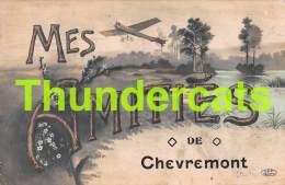CPA MES AMITIES DE CHEVREMONT AVION - Trooz