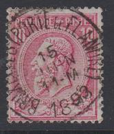 N° 46 BRUXELLES (PORTE De FLANDRE)  1893 - 1884-1891 Léopold II