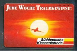 GERMANY Telefonkarte O 428 93 Süddeutsche Klassenlotterie -  Aufl 9500  -siehe Scan - Deutschland