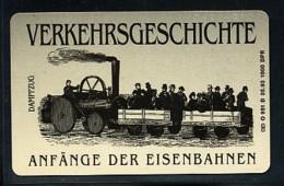 GERMANY Telefonkarte O 951 D  93 Anfänge Der Eisenbahnen -  Aufl 1000  -siehe Scan - Deutschland