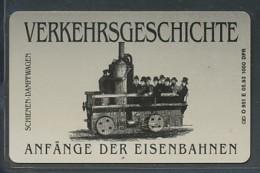 GERMANY Telefonkarte O 951 E  93 Anfänge Der Eisenbahnen -  Aufl 1000  -siehe Scan - Deutschland