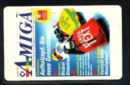 GERMANY Telefonkarte O 970  93 Amiga Magazin -  Aufl 18000  -siehe Scan - Deutschland
