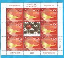 2006 124  UNABHAENGIGKEIT  INDEPENDENCE MONTENEGRO CRNA GORA  MNH - Montenegro