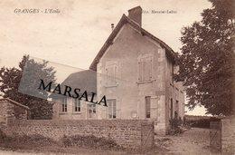 CPA Granges L'école - Other Municipalities