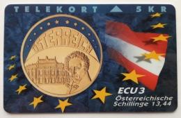 5 Kr ECU Osterreichishe Schillinge , P 034 , Unused - Denmark