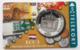 Denmark , 5 Kr ECU  3 ,Netrherland  , TP 095 , Unused - Denmark
