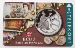 Denmark ,  ECU  3 ,Brittische Pound  ,  TP 093 Unused - Denmark