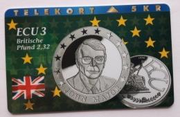 Denmark ,  ECU  3 ,Britische Pound  ,  P 052 Unused - Denmark