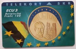 Denmark ,  ECU  3 ,Belgium ,  P 049 Unused - Denmark