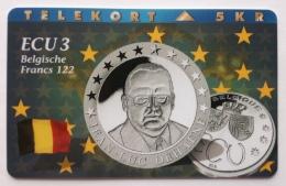 Denmark ,  ECU  3 ,Belgium ,  P 079 Unused - Denmark