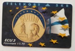 Denmark ,  ECU  3 ,Finnland ,  P 036 Unused - Denmark