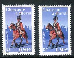 France - 3679 - 1 Exemplaire Bleu + 1 Violet  , Neufs ** - Ref VJ102 - Variétés Et Curiosités