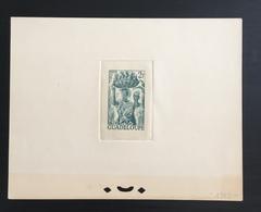 Guadeloupe Trial Color Die Proof.Deluxe Luxus Prueba Druckprobe épreuve Prova Proeven] - Guadeloupe (1884-1947)