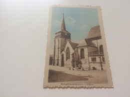 AR - 1800 - BOURGTHEROULDE - L' Eglise - Bourgtheroulde