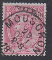N° 46 MOUSCRON  1893 - 1884-1891 Leopoldo II