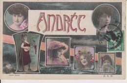 ANDREE - PRENOM FEMME - AVEC 6 PORTRAITS DE FEMMES - Femmes