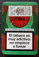 CAJA METÁLICA LUCKY STRIKE. - Cajas Para Tabaco (vacios)