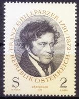 Ap1- Painting Of Poet Franz Grillparzer By Moritz M. Daffinger, Austria 1972 MNH - Art