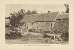 D 35 - Une Ferme Bretonne - Au Sud De Rennes - Cliché A. DEMANGEON - Collections