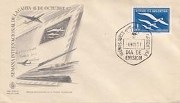 ARGENTINIEN FDC Brief 1957 - Argentinien