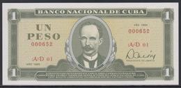 Cuba 1 Peso 1985 UNC - Cuba
