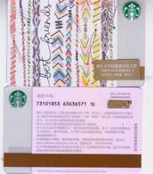 Starbucks 2018 China Sisterhood SVC Gift Card RMB100 - China